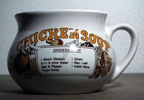 Mug Chicken Soup