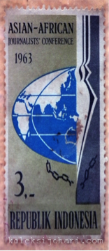 Setem Indonesia (Asian-African Journalist Conference) Tahun 1963