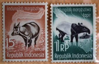 Setem Indonesia (Haiwan Dilindungi) Tahun 1959