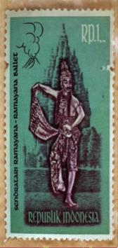 Setem Indonesia (Tarian Ramayana) Tahun 1962